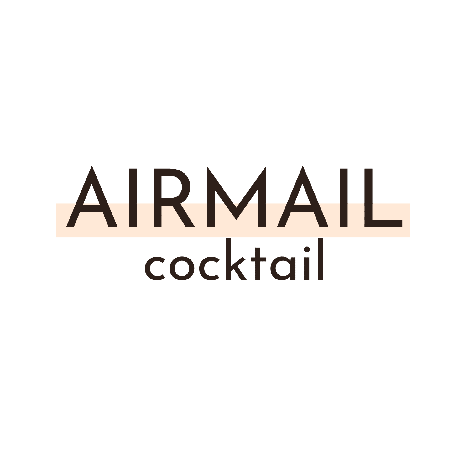 sidecar cognac logo AIRMAIL Cocktail